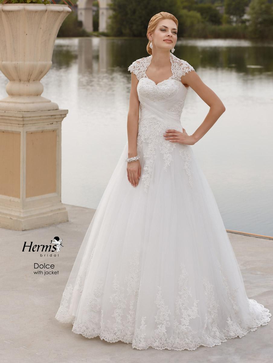 Свадебные не пышные платья с закрытыми плечами